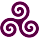 Mauve Triskele icon