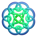 Bluegreen-circleknot icon