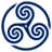 Blue Wheeled Triskelion 1 icon