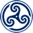 Blue Wheeled Triskelion 2 icon