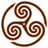 Brown-Wheeled-Triskelion-1 icon