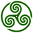 Green Wheeled Triskelion 1 icon