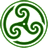 Green Wheeled Triskelion 2 icon