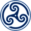 Blue-Wheeled-Triskelion-2 icon