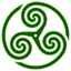 Green-Wheeled-Triskelion-1 icon