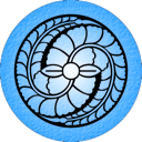Blue Fuji icon