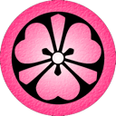 Pink Katabami icon