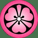 Pink Katabami icon