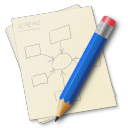 http://icons.iconarchive.com/icons/shlyapnikova/application/128/Pencil-icon.png