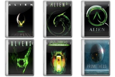 Alien Collection Icons