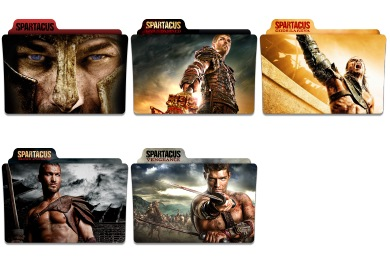 Spartacus Icons