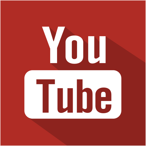 Youtube Icon | Flat Shadow Social Iconset | S-Icons