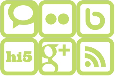 SimpleGreen Social Media Icons