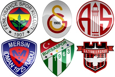Turkish Football Club Icons