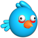 Bird-blue icon