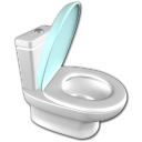 Water closet icon