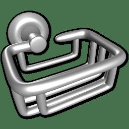 Soap holder icon