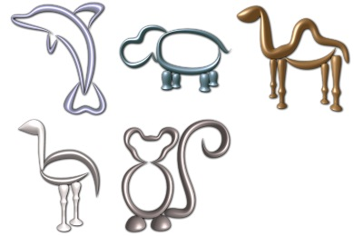 Glass Zoo 2 Icons