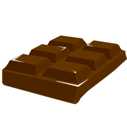 chocolate block icon
