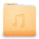 folder music icon