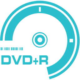 DVD plus R icon