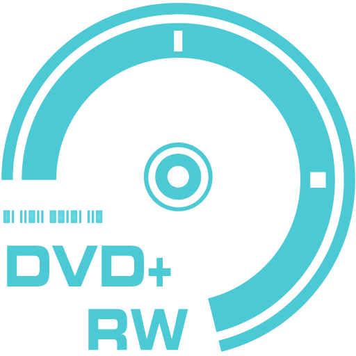 DVD plus RW icon