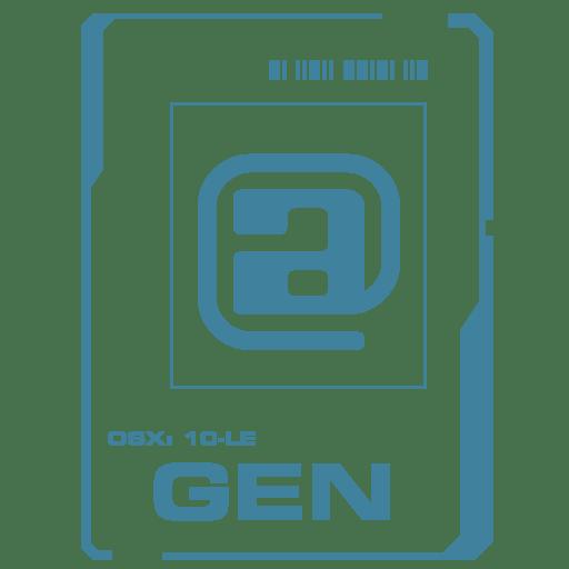 GEN icon