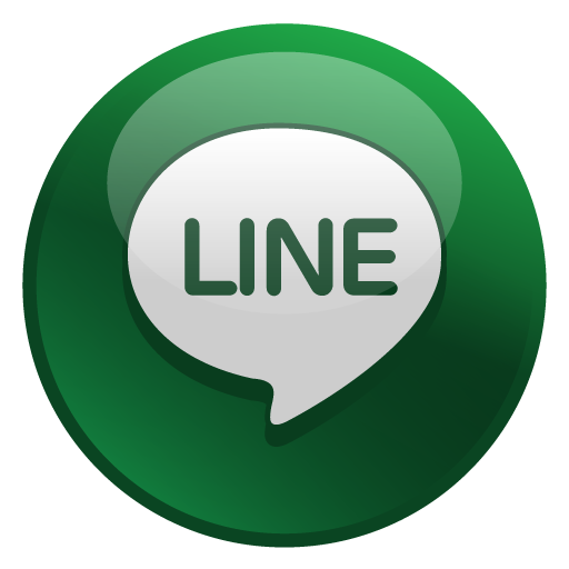 Line Icon | Glossy Social Iconset | Social Media Icons