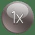 1x icon