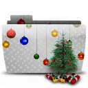Folder Xmas Tree icon
