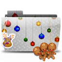 Folder Xmas cookies icon