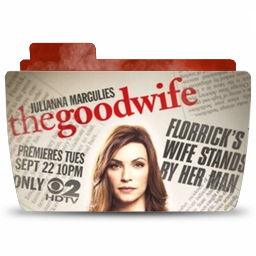 Folder TV GoodWife icon