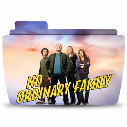 Folder TV No Ordinary Family icon