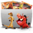 Folder TV Lion icon