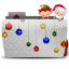 Folder Xmas Santa with Bag icon