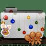 Folder-Xmas-cookies icon