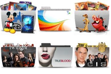Series Folder Icons
