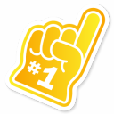 Mayor Foam Hand icon