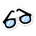 Nerd-Glasses icon