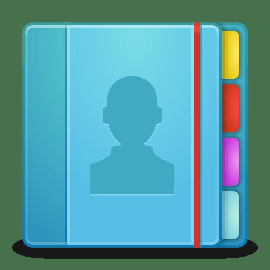 apps addressbook icon matrilineare iconset sorameliae