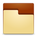 Places folder empty icon