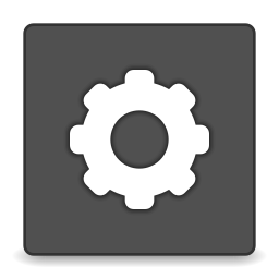 Actions system run icon