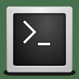 Apps utilities terminal icon