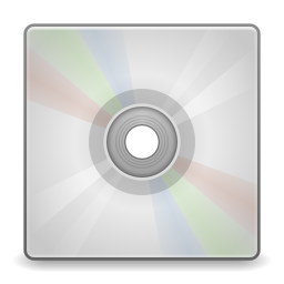 Devices media optical icon