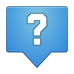 Status dialog question icon