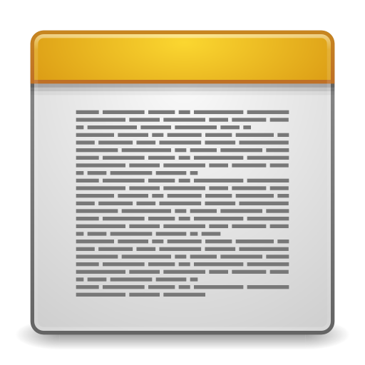 Apps-accessories-text-editor icon