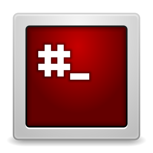 Apps-gksu-root-terminal icon