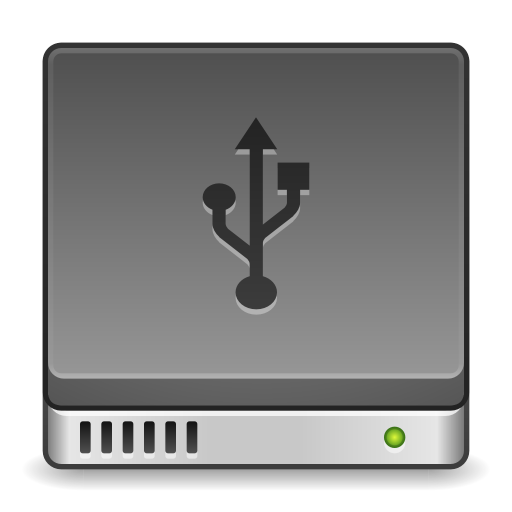 Devices-drive-harddisk-usb icon