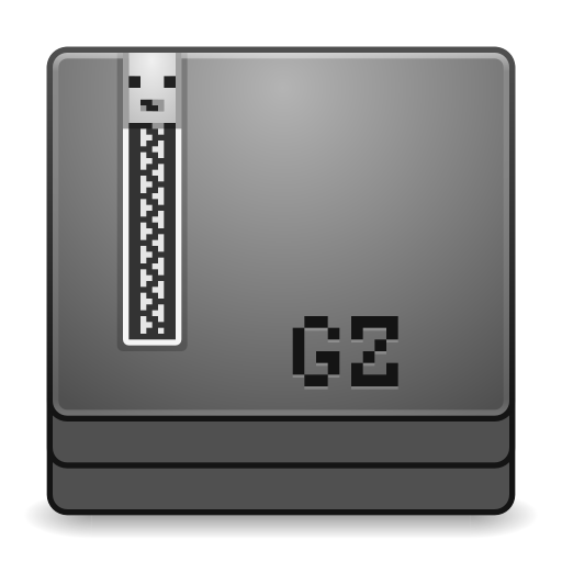 Mimes application x gzip icon
