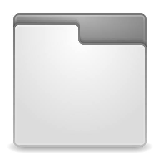 Places-folder-grey icon